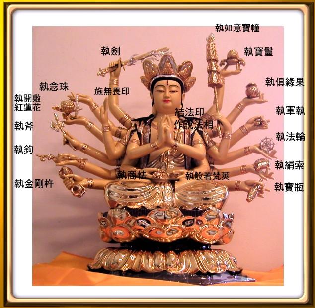 佛像《南无准提菩萨》 - 正觉 - 正觉博客